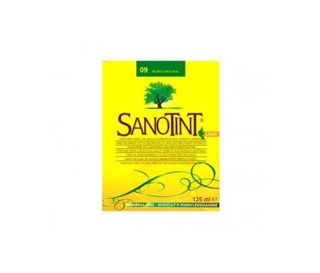 Santiveri Sanotint nº09 color rubio natural 125ml