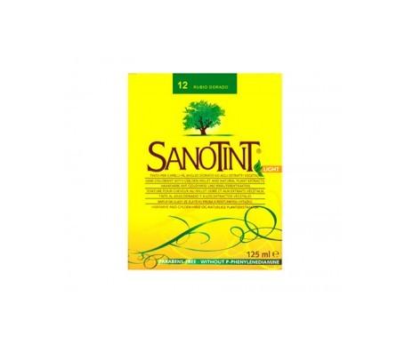 Santiveri Sanotint nº12 color rubio dorado 125ml