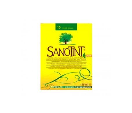 Santiveri Sanotint nº15 color rubio ceniza 125ml