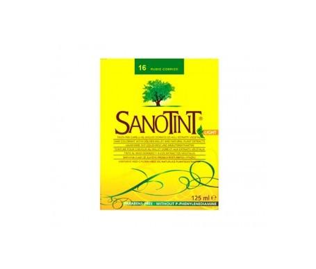 Santiveri Sanotint nº16 color rubio cobrizo 125ml