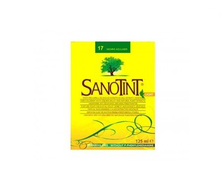 Santiveri Sanotint nº17 color negro azulado 125ml