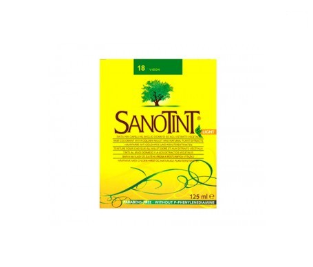Santiveri Sanotint nº18 color vison 125ml