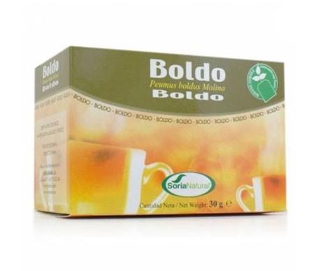 Soria Natural Boldo infusión 20 filtros
