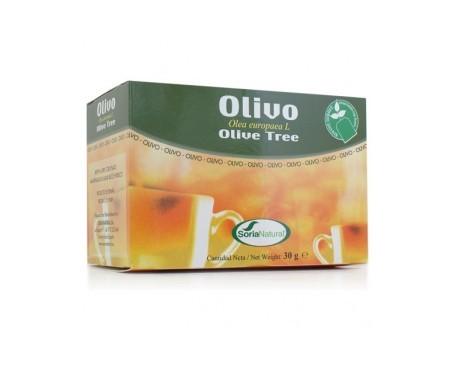 Soria Natural Olivo infusión 20 filtros