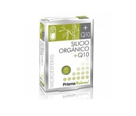 Prisma Natural microesferas silicio + Q10 45cáps