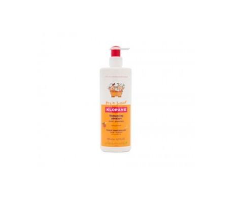 Klorane Petit Junior champú desenredante equilibrante 500ml + spray desenredante 150ml