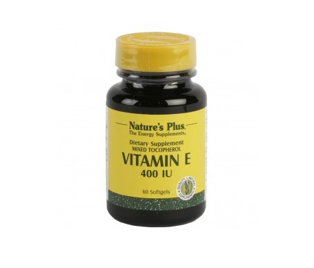 Nature's Plus Vitamina E 60 Perlas