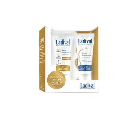 Ladival® emulsión anti-manchas SPF30+ 50ml + sérum regenerador 50ml