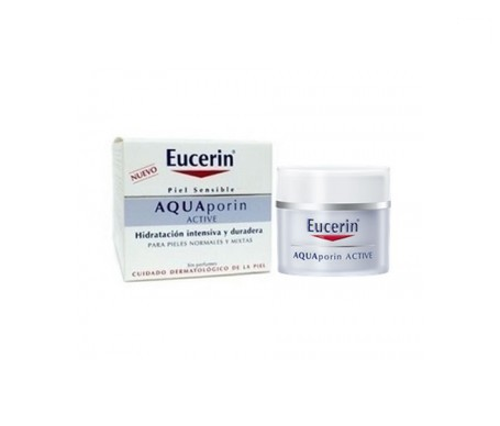 Eucerin® Aquaporin Active piel normal/mixta tarro 50ml