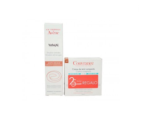 Ystheal Pack crema antiarrugas 30ml+ REGALO Couvrance compacto