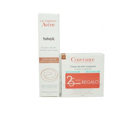 Ystheal anti-wrinkle emulsion 30ml+ Gift Couvrance Compact Text oil free