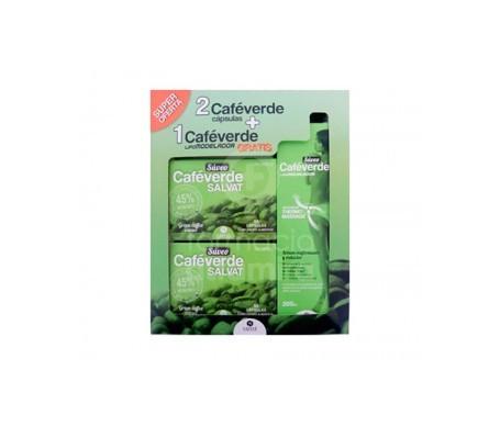 Súveo Salvat café verde 60cáps+60cáps + Súveo sérum reafirmante y reductor 200ml