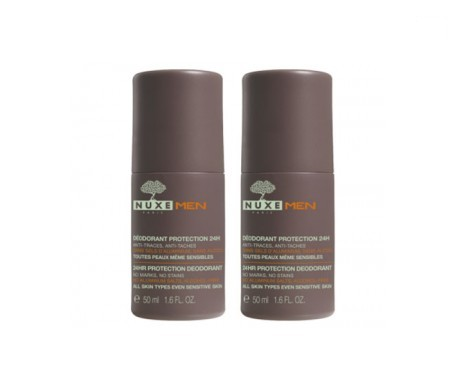 Nuxe Men desodorante 24h 50ml+50ml