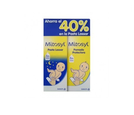 Mitosyl® pomada protectora 65g + Mitosyl® pasta lassar 45g