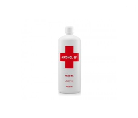 Interapothek alcohol Heridine 96º 1l