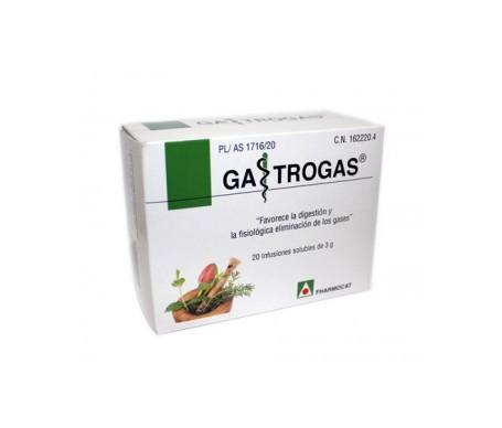 Fharmocat Gastrogas 20 infusiones