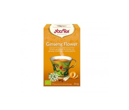 Yogi Tea ginseng flower 17 bolsas