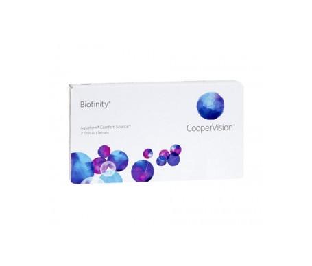 Biofinity®  radio 8.6  diámetro 14.0 dioptrías +04.75  3uds