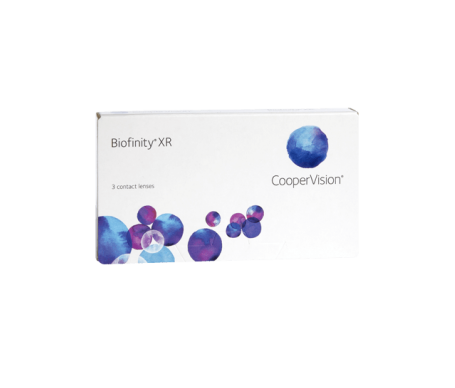Biofinity®  radio 8.6  diámetro 14.0 dioptrías -04.50  3uds