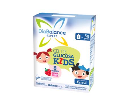 DiaBalance gel de glucosa Kids 8 sobres