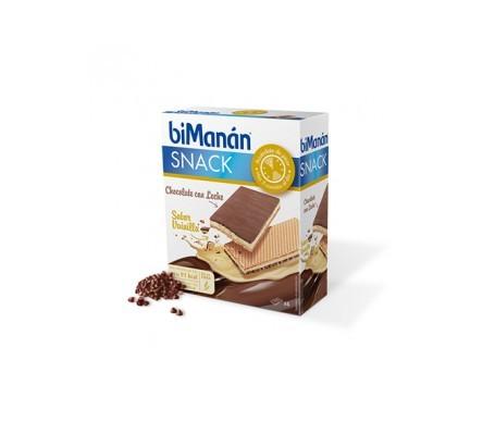 biManán® Snack choco vainilla 6uds