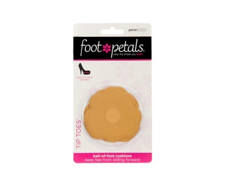 Foot Petals Tip Toes color carne 1 par
