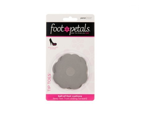 Foot Petals Tip Toes color gris 1 par