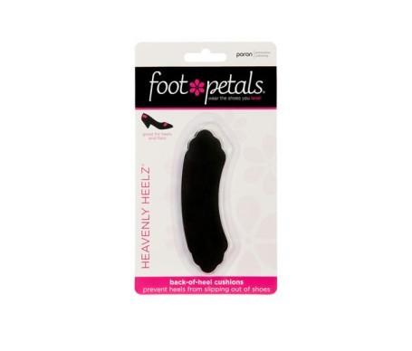 Foot Petals Heavenly Heelz color negro 1 par