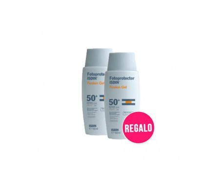 Fotoprotector ISDIN® Pack Fusion gel sport SPF50+ 2x100+Obsequio
