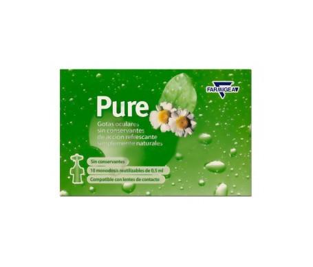 Pure gotas monodosis 0.5mlx10uds