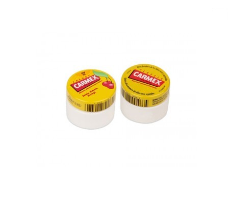 Carmex® bálsamo labial tarro clásico 7,5g + tarro cereza 7,5g
