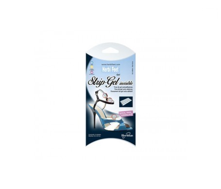 Herbi Feet Strip-gel tiras invisibles de gel 4uds