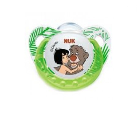 Nuk Jungle Book chupete silicona T2 1ud