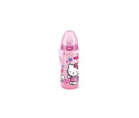 Nuk Active Cup Hello Kitty (+12 Meses) Silicona 300 Ml