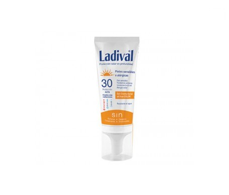 Ladival® piel sensibles o alérgicas SPF30+ gel crema 50ml