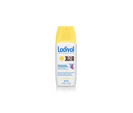 Ladival® protección y bronceado SPF30+ spray 150ml