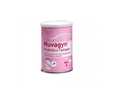Muvagyn® Probiótico tampón mini con aplicador 9uds