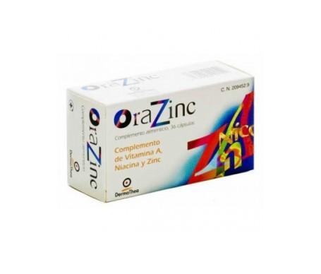 Dermathea Orazinc 36cáps