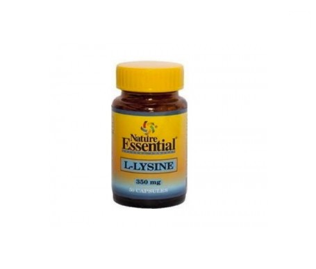Nature L-lysina 350 Mg 50 Capsulas