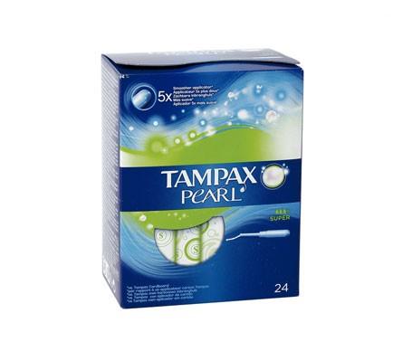 Tampax Pearl Super Tampon Super Tampon 24 pcs