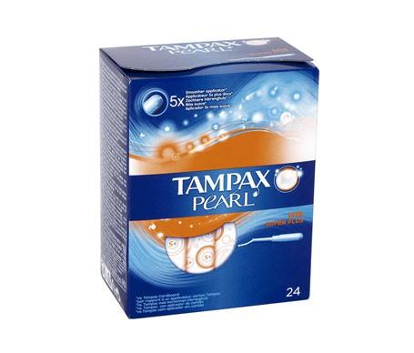 Tampax Pearl tampón superplus 24uds