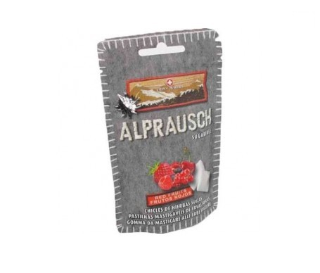Alprausch Chicle Frutos Rojos Sugar Free 31gr