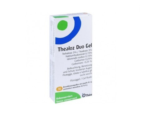 Thealoz Duo Gel estéril unidosis 0.4ml 30uds