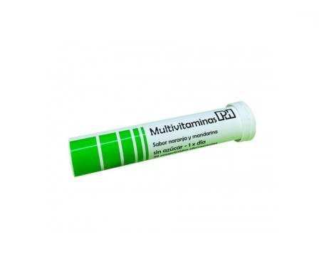 PH multivitaminas 20comp efervescentes
