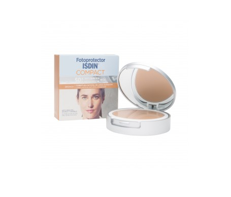 Isdin® Fotoprotector Compact bronce oil-free SPF50+ 10g