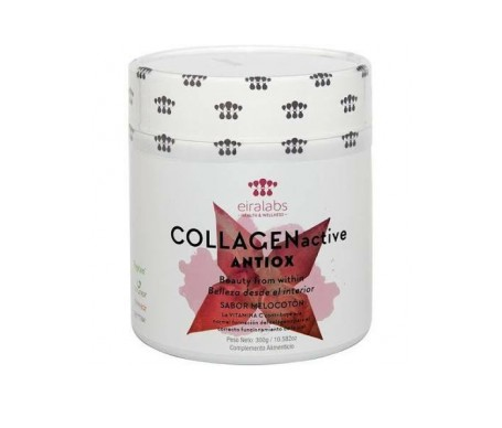 Eiralabs Glow collagen active sabor melocotón 300g
