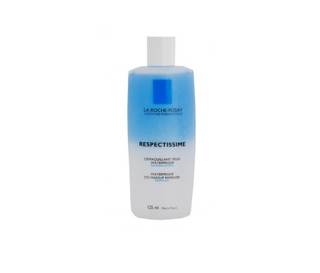 La Roche- Posay Respectissime Waterproof desmaquillante ojos 125ml+125ml