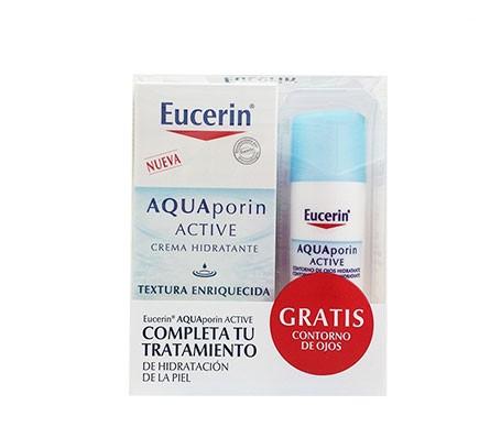 Eucerin™ Aquaporine Active enrichie texture enrichie 40ml + Eucerin™ contour des yeux 15ml