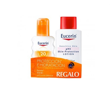 Eucerin Pack Solar spray + loción