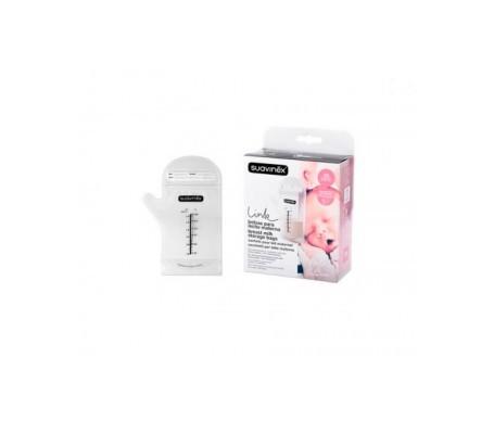Suavinex® Link bolsas para leche materna 25uds